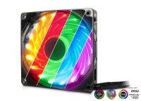Fan Argus L-12025 Aura, 120mm LED, RGB