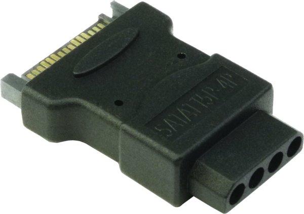 Power-Adapter S-ATA auf Molex (IDE)  für PC ATX Netzteile