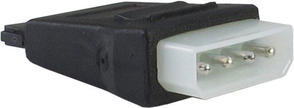 Power-Adapter Molex (IDE)  auf S-ATA für PC ATX Netzteile