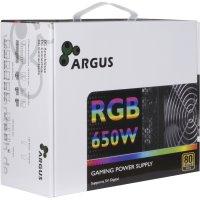 PSU Argus RGB-650CM II, 650W